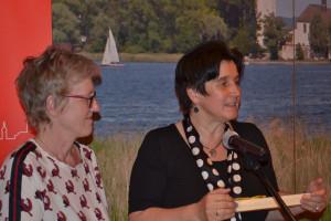 Maria Noichl, MdEP, und SPD, Bezirksrätin Elisabeth Jordan