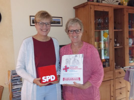 Jordan und Promann mit allen Listen der SPD