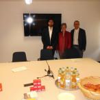 Abuzar Erdogan mit Elisabeth Jordan und Robert Metzger