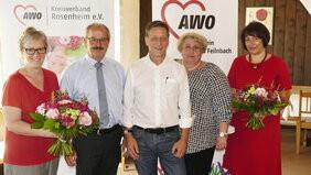 Kreiskonferenz des AWO-Kreisverbands Rosenheim e. V.: Elisabeth Jordan zur stellv. Vorsitzenden gewählt
