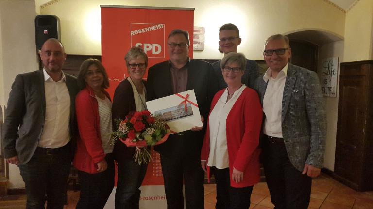 SPD Rosenheim Stadt: Neuer Vorstand gewählt
