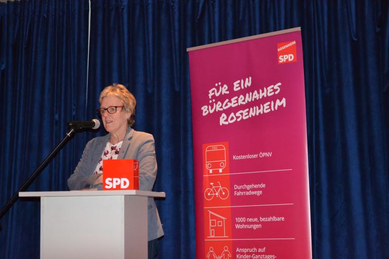 Politischer Aschermittwoch der SPD Rosenheim:  Elisabeth Jordan