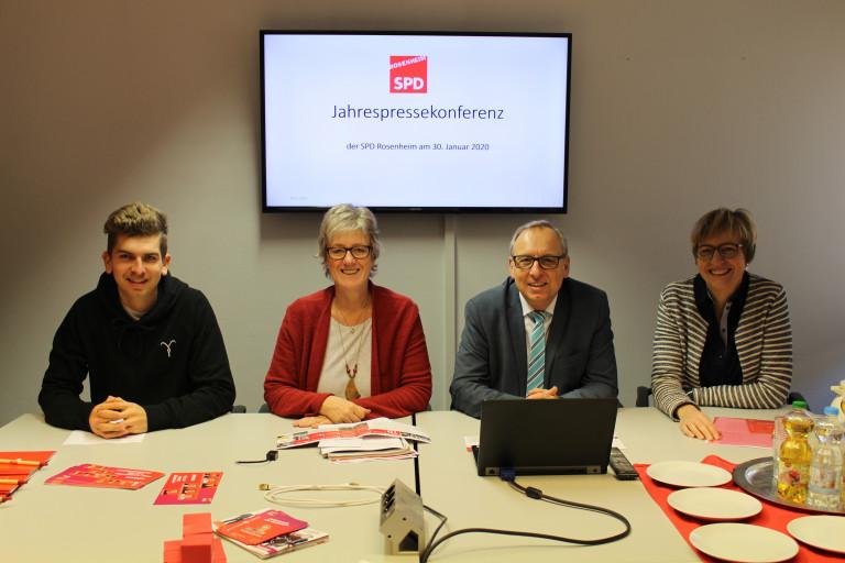 Jahrespressekonferenz 2020 des UB Rosenheim Stadt