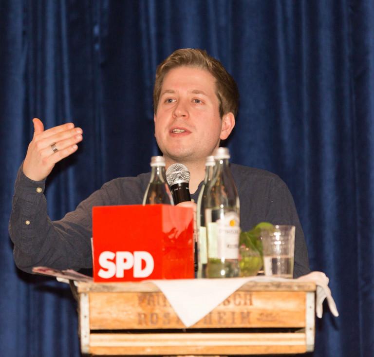 Politik im Wandel – Kevin Kühnert spannt den Bogen von der Bundes– zur Kommunalpolitik bei der Rosenheimer SPD II